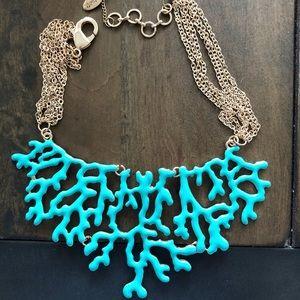 NWOT Amrita Singh coral necklace